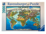 World Map 2000 piece puzzle