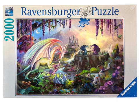 Dragon Valley 2000 Piece Puzzle