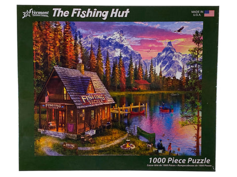 The Fishing Hut 1000 Piece Puzzle