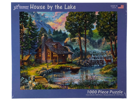 House By The Lake 1000 Piece Puzzle