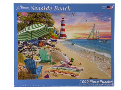 Seaside Beach 1000 Piece Puzzle