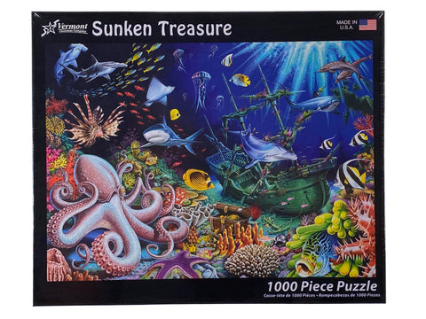 Sunken Treasure 1000 Piece Puzzle