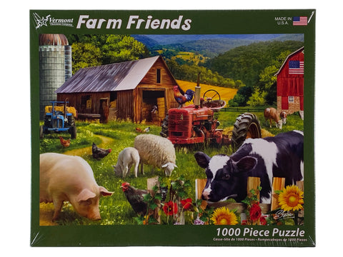 Farm Friends 1000 Piece Puzzle