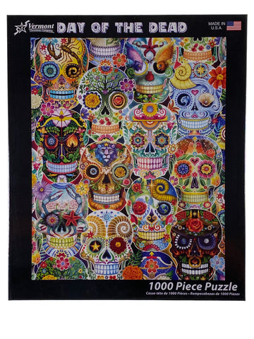 Day Of The Dead 1000 Piece Puzzle