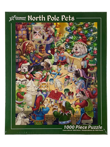 North Pole Pets 1000 Piece Puzzle