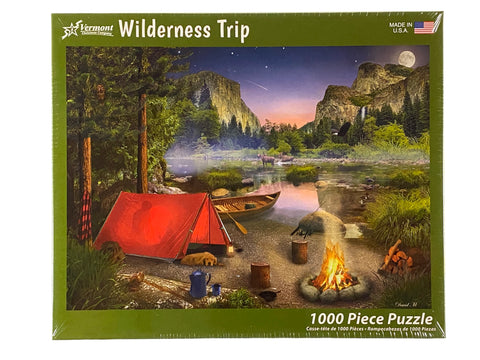 Wilderness Trip 1000 Piece Puzzle
