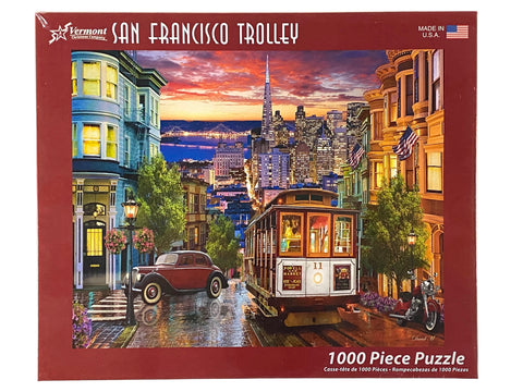 San Francisco Trolley 1000 Piece Puzzle