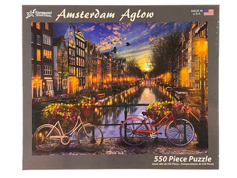 Amsterdam Aglow 550 Piece Puzzle
