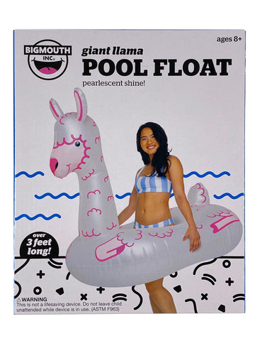 Giant Llama Pool Float
