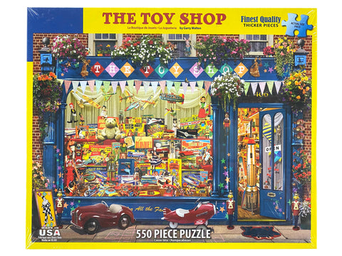 The Toy Shop 550 Piece Puzzle