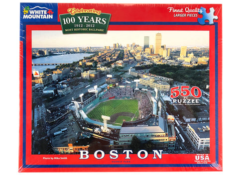 Boston Fenway Park 550 Piece Puzzle