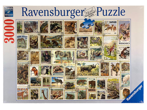 Animal Stamps 3000 Piece Puzzle