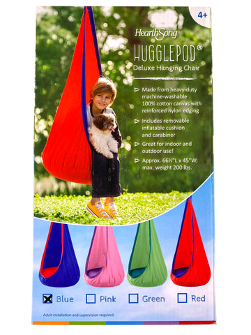 Hugglepod Deluxe Hanging Chair - Blue