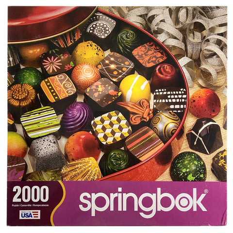 Tin Of Treats 2000 Piece Puzzle