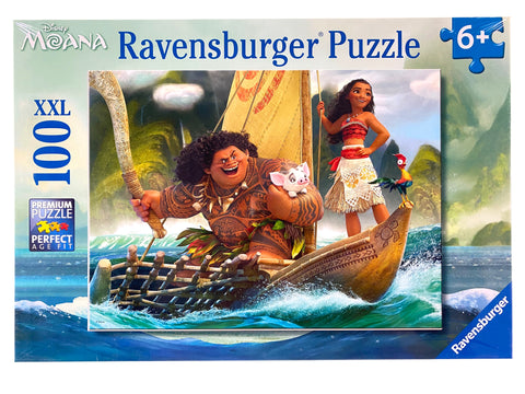 Moana and Maui 100 piece puzzle