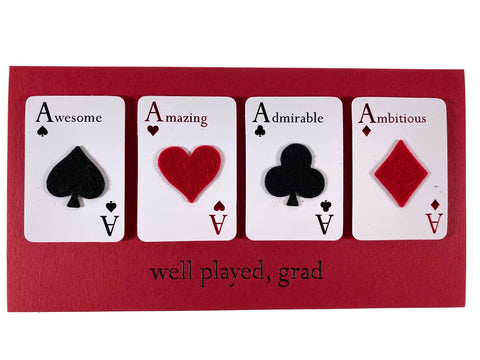 Well Played Aces Money Card