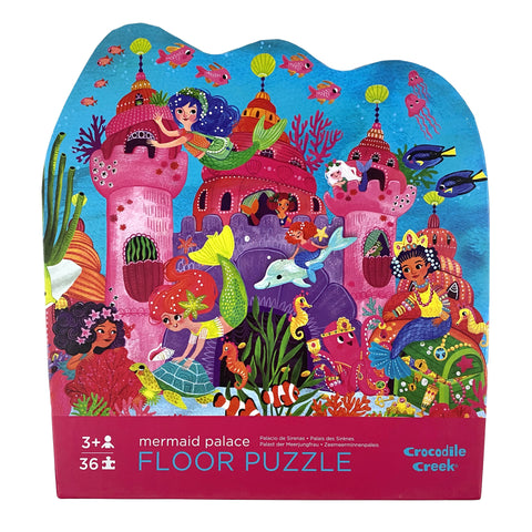 Mermaid Palace 36 Piece Floor Puzzle