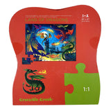 Land Of Dragons 36 Piece Floor Puzzle