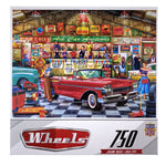Wheels - The Auctioneer 750 Piece Puzzle