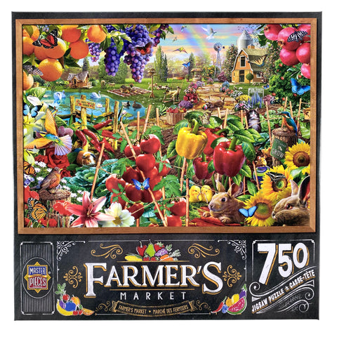 Farmers Market A Plentiful Season 750 Piece Puzzle