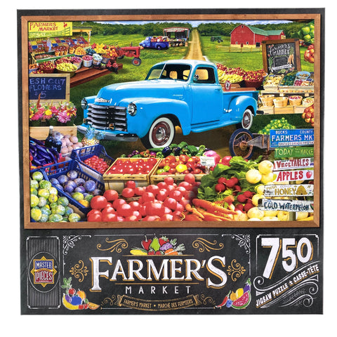 Farmers Market Locally Grown 750 Piece Puzzle