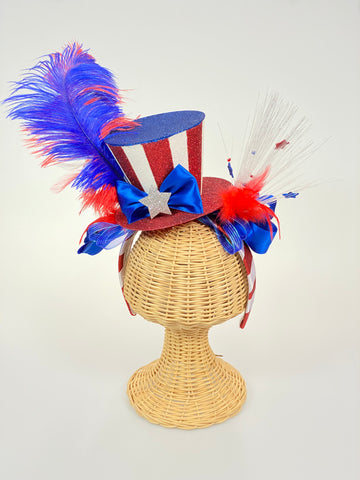 Patriotic Hat Headband