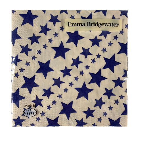 New Starry Skies Blue Paper Lunch Napkins