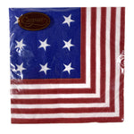Star Spangled Paper Lunch Napkins