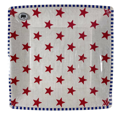 Stars And Stripes Paper Dinner Plates