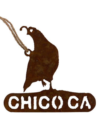 Chico Ornament - Quail