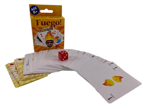 Fuego Caliente Edition Card Game