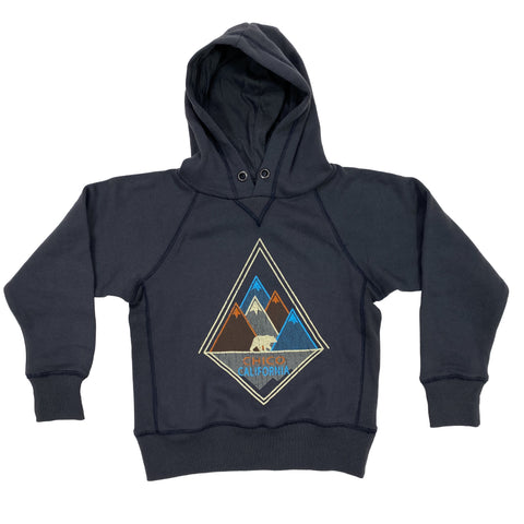 Kids Hooded Sweatshirt Mountain Chico