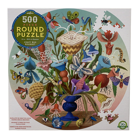 Crazy Bug Bouquet 500 Piece Puzzle