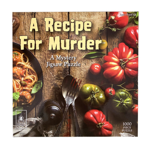 A Recipe for Murder Mystery 1000 Piece Jigsaw Puzzle