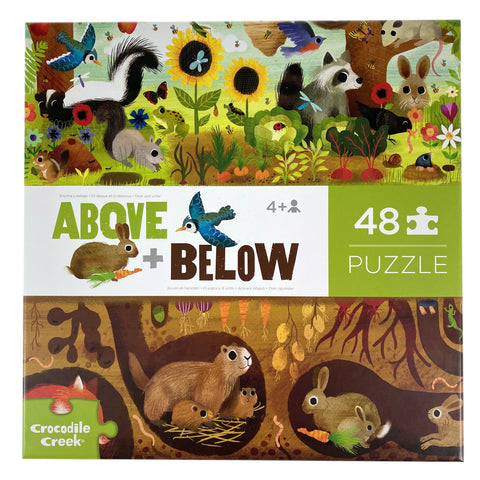 Above and Below Backyard Discovery 48 Piece Puzzle