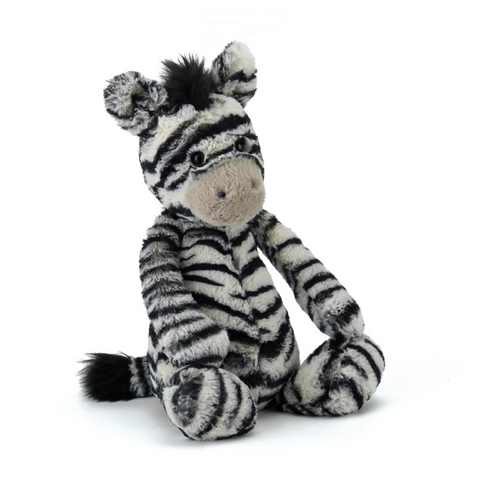 "Jellycat Bashful Zebra (Medium 12"" height)"
