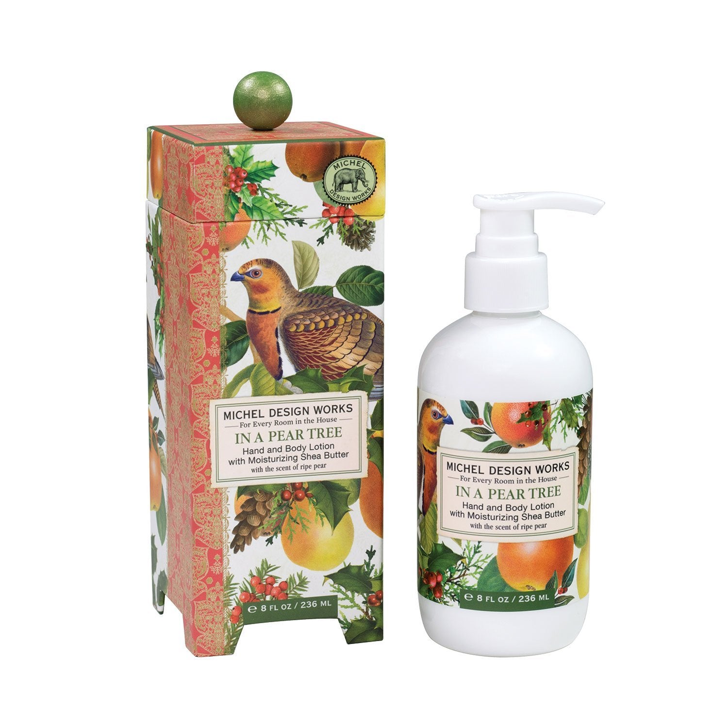 In A Pear Tree - Hand and Body Lotion With Shea Butter
