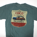 Liberty Bell California Bear Woody T-shirt