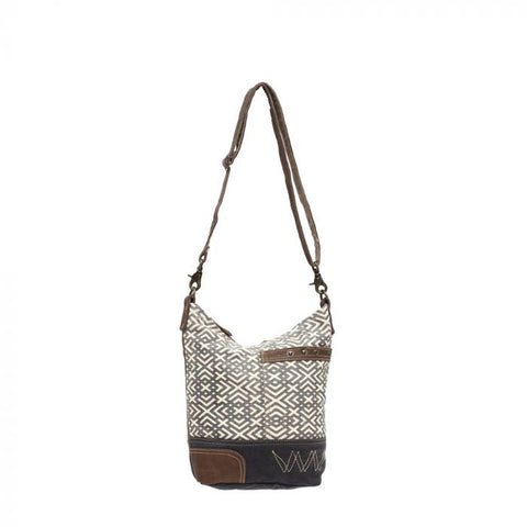 Geometric X Shoulder Bag