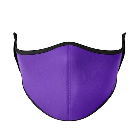 Kids Mask Ages 3-7 - Solid Purple