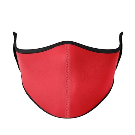 Kids Mask Ages 3-7 - Solid Red