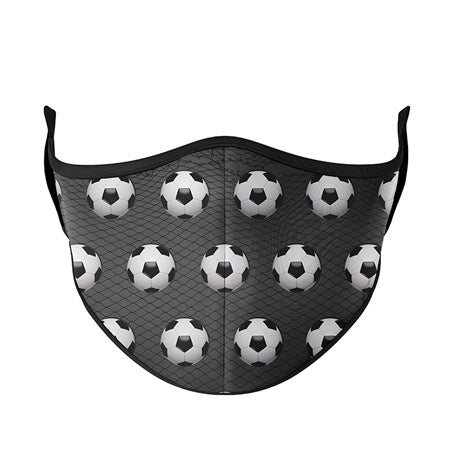 Kids or Adult Mask Ages 8+ - Soccer