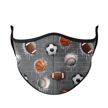 Kids or Adult Mask Ages 8+ - Sports City