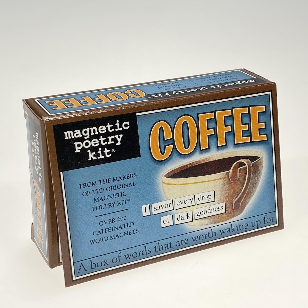 Magnetic Poetry Coffee