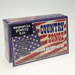 Magnetic Poetry Country Songs
