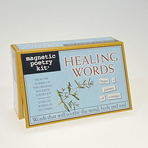 Magnetic Poetry Healing Words