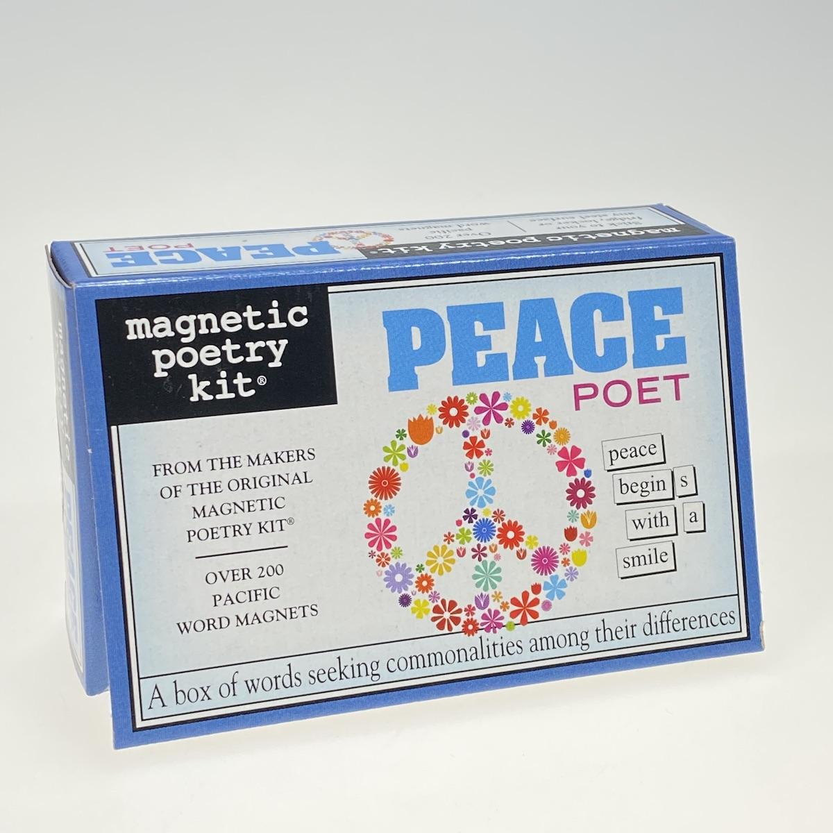 Magnetic Poetry Peace Poet