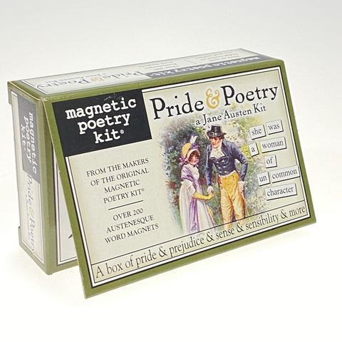 Magnetic Poetry Pride & Poetry a Jane Austen Kit