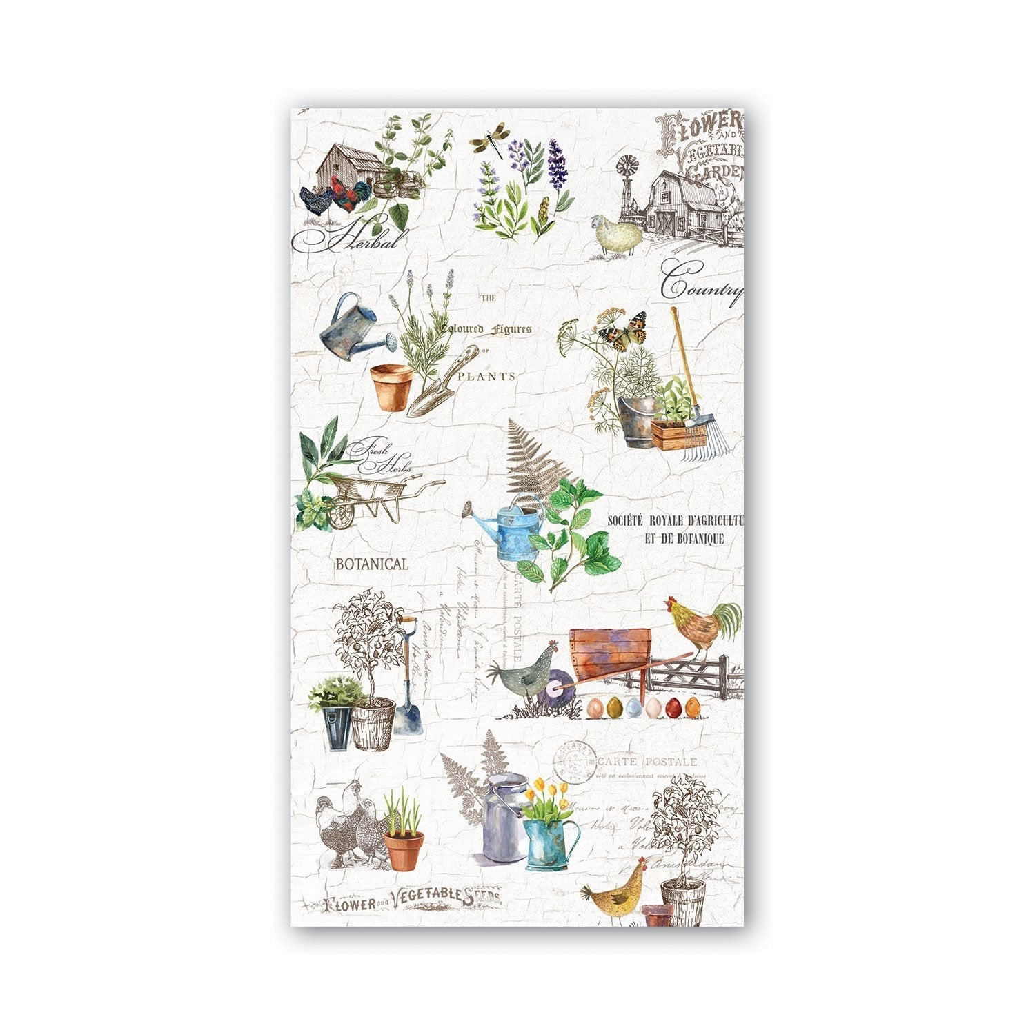 Country Life - Hostess Napkins