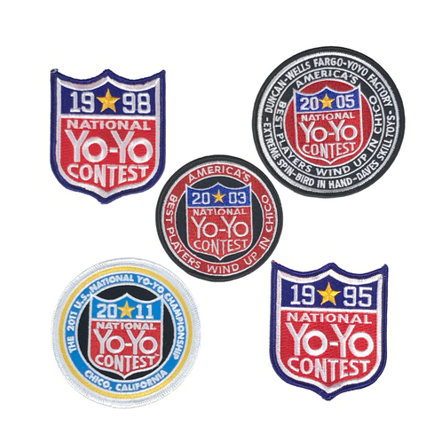 National Yo-Yo Contest Patch 3 or 4 inch